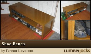 Click for details: Shoe Bench