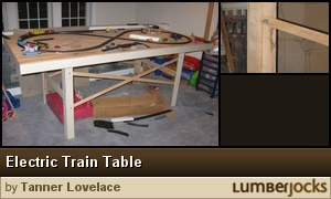 Click for details: Electric Train Table