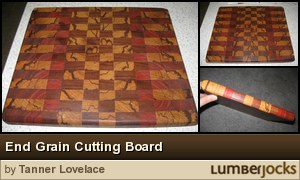 Click for details: End Grain Cutting Board